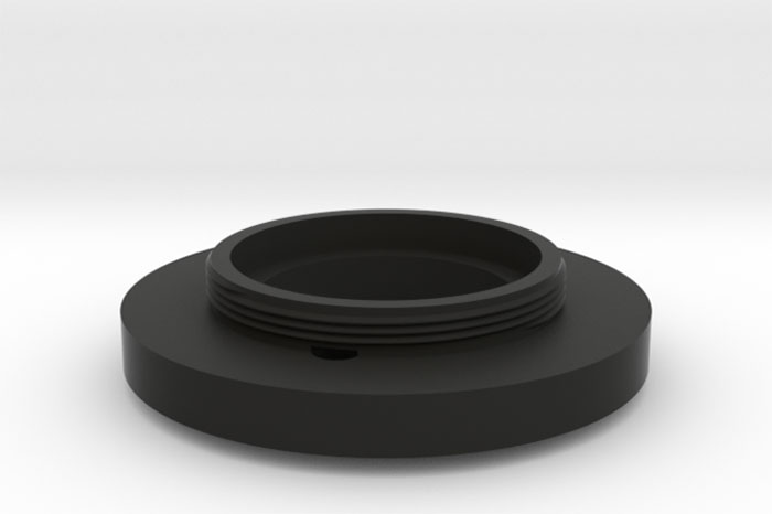 3D Printed Lens Mount Adapter: KONICA HEXANON 1:1.6 f=45mm to Leica-L