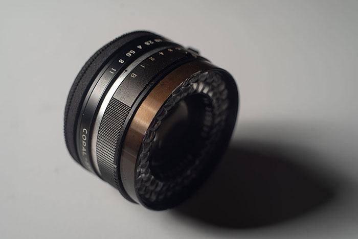 3D Printed Lens Mount Adapter: BIOKOR-S 1:1.9 f=45mm F.C. to Leica-L