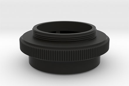3D Printed Lens Mount Adapter: Agfa Solagon 1:2/50 to Leica-L