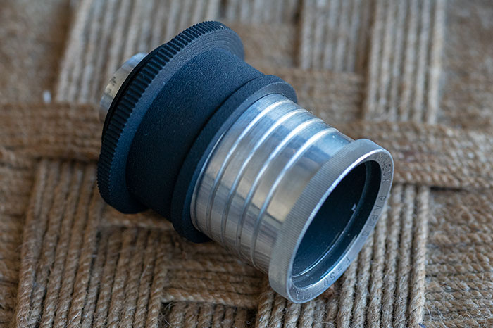 3D Printed Lens Mount Adapter: Angenieux Projector lens to Leica-L