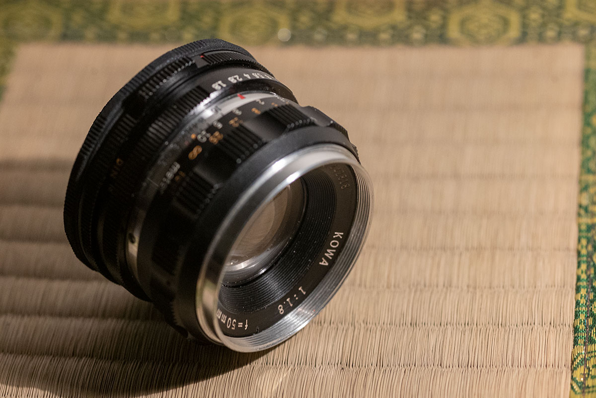 3D Printed Lens Mount Adapter: KOWA 1:1.8 f=50mm to L39(Leica-L)
